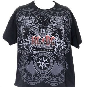 Delta Proweight AC/DC Black Ice T-Shirt Size XL